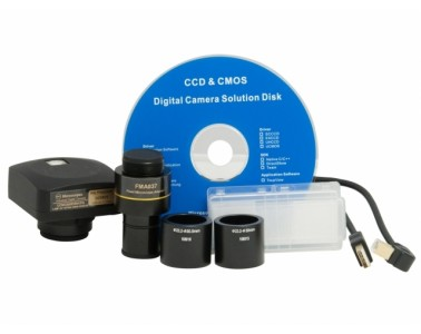 Kit cámara USB 2.0 microscopía BMS 0,3 Mp 766600350AK1